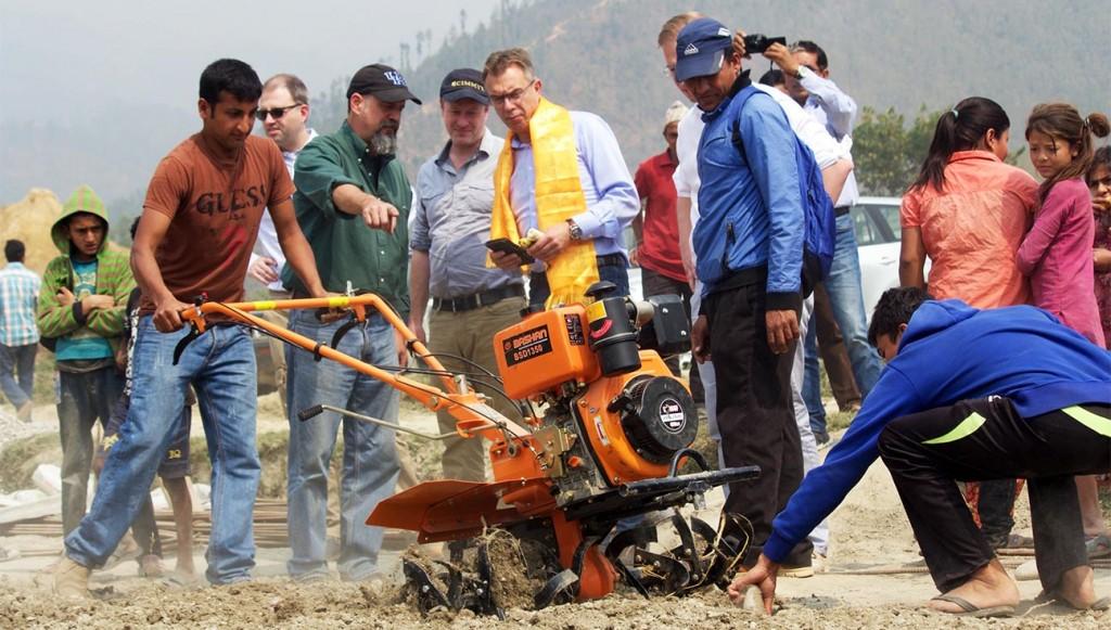 CIMMYT DG visits Nepal