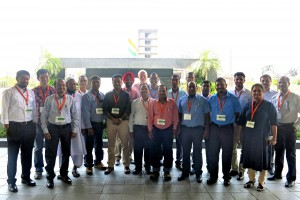 Participants in the LCAT training workshop in New Delhi, India.